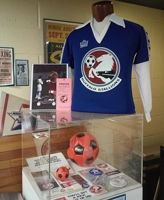 Buffalo was home to two indoor soccer clubs, first the Stallions and later the Blizzard. Both have long since folded.
