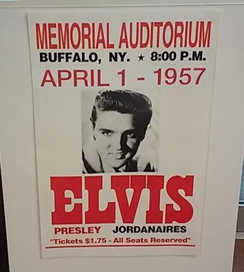 Elvis Presley was among the biggest acts to play at the Aud.