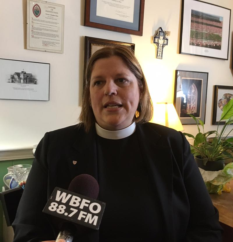Vicki Zust, Rector, St. Paul's Episcopal Church