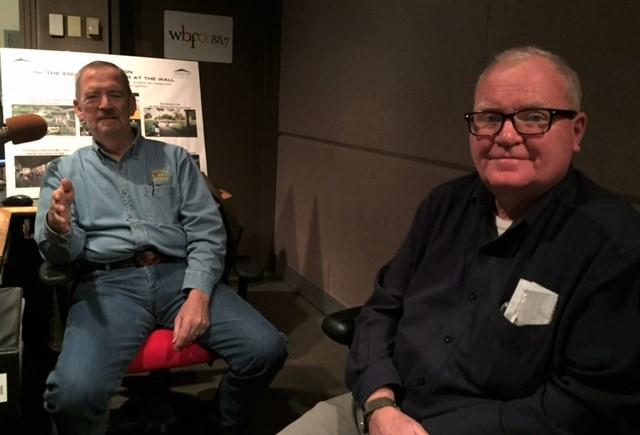 Norm Murray (left) and Pat Kavanagh