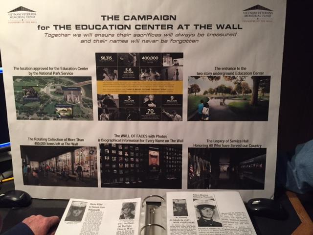 The new Education Center being built at the Vietnam Veterans Memorial in Washington, DC will include a Wall of Faces corresponding to each name of The Wall