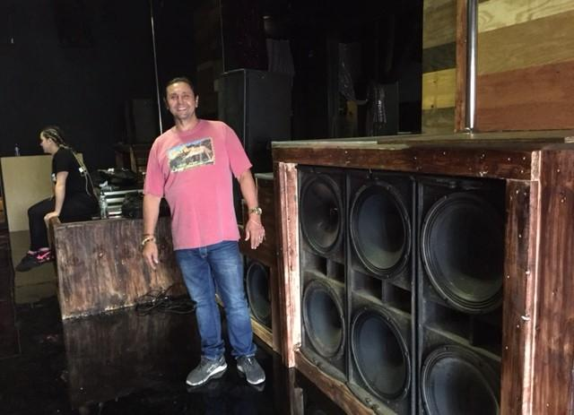 New state-of-the-art sound and lighting systems will pump up the noise and funk.