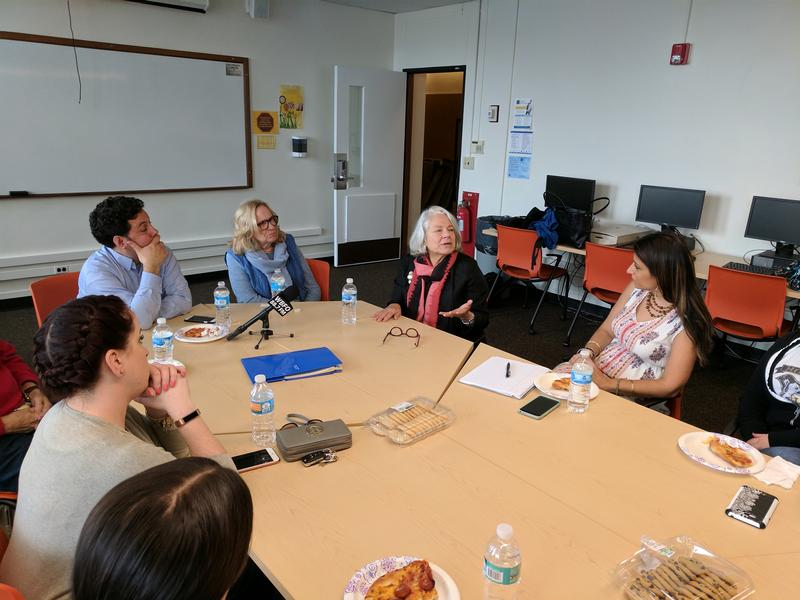 Nancie Atwell discusses the current state of English Language Arts education with teachers at SUNY Buffalo State College.