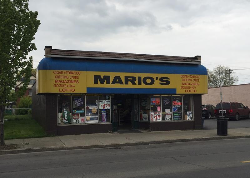 A view of Mario's on Pine Avenue, which closed on Saturday after 85 years in business. The store was founded in 1932 by Cesidio DiGregorio, whose family ran the shop until 1986, when the Mansour family acquired it. The Mansours recently sold it.