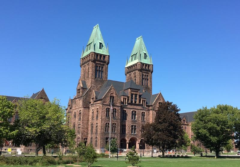 Richardson Olmsted Complex, designed by HH Richardon and Frederick Law Olmsted