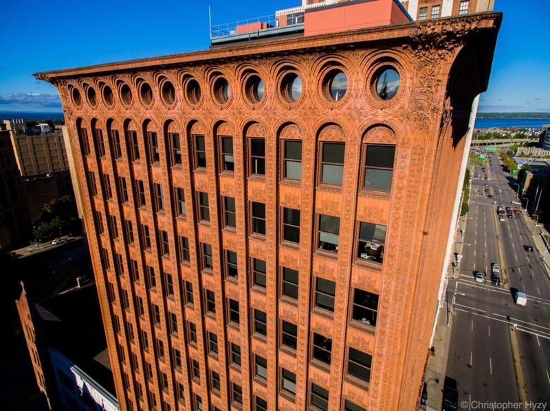 The Guaranty Building in downtown Buffalo