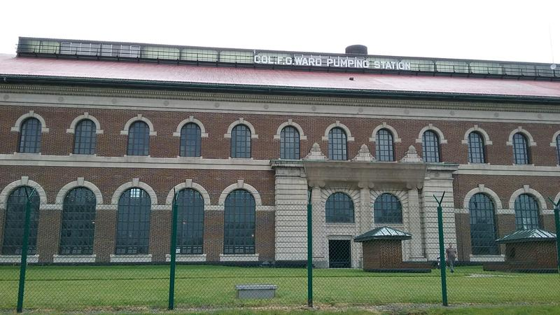 The Colonel Ward Pumping Station is a familar site for visitors to LaSalle Park.