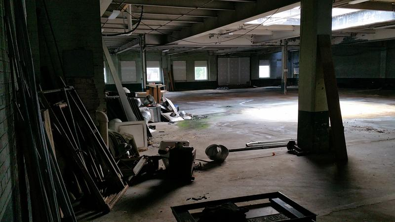 Inside the Sixth Street building that will be transformed into a BOCES center.