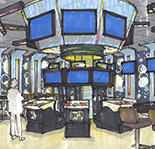 A rendering of the casino's new interactive gaming zone.