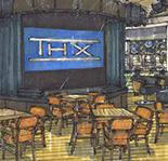 A rendering of the casino's new sports bar.