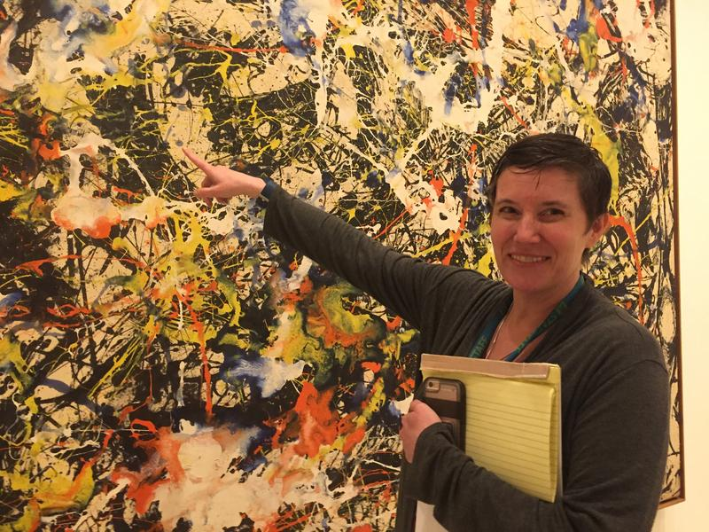 Albright-Knox Education and Community Engagement Director Jennifer Foley