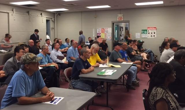 Dozens turned out in South Buffalo to hear about job openings.