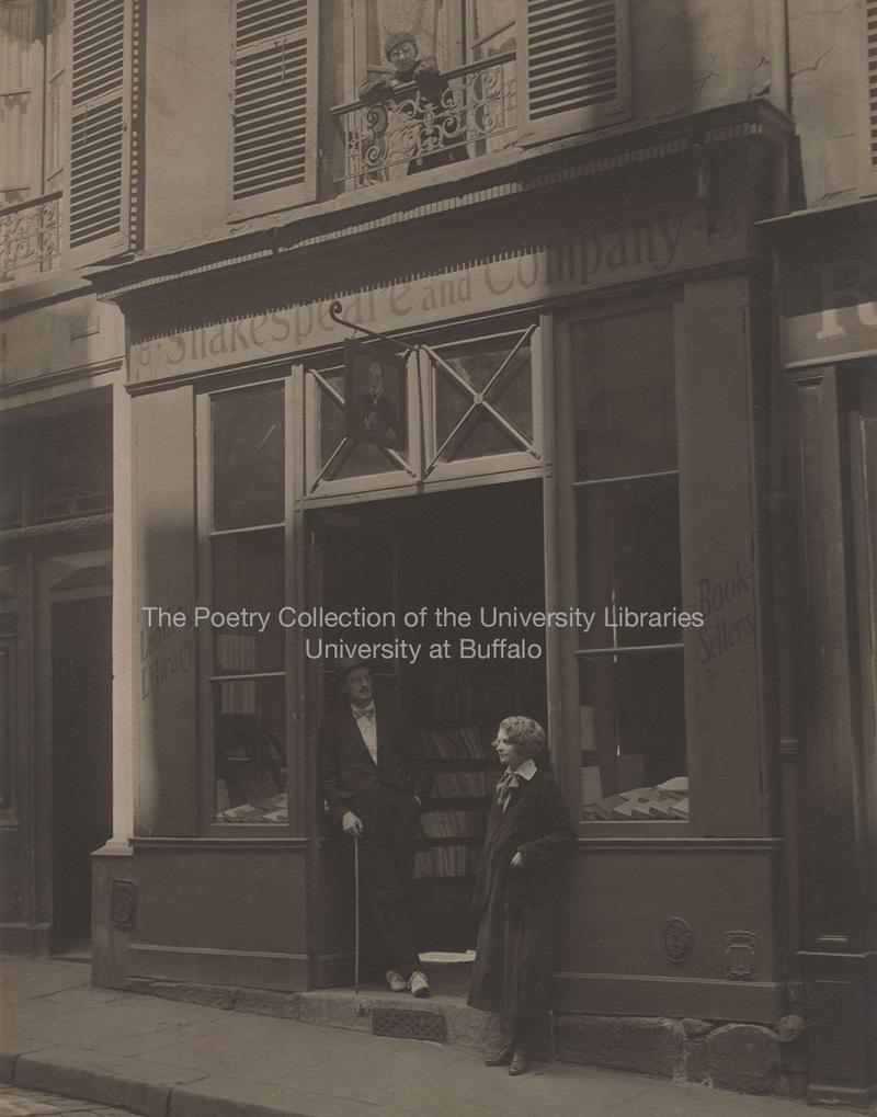 James Joyce and Sylvia Beach, 1920, Paris