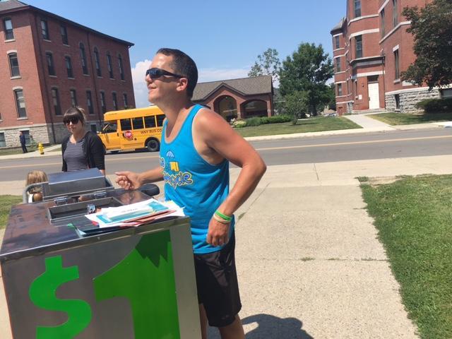 James Karagiannis, the Ice Cream Dude in Lackawanna.