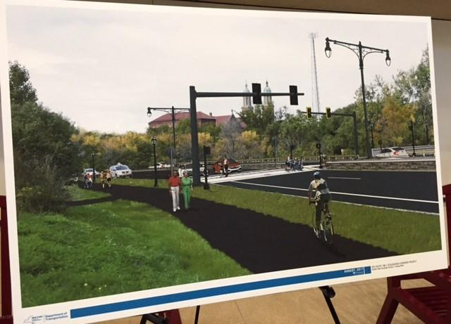 Latest NYS DOT plan for the Scajaquada Corridor