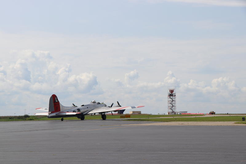 The Madras Maiden departs for takeoff into the skies over Buffalo
