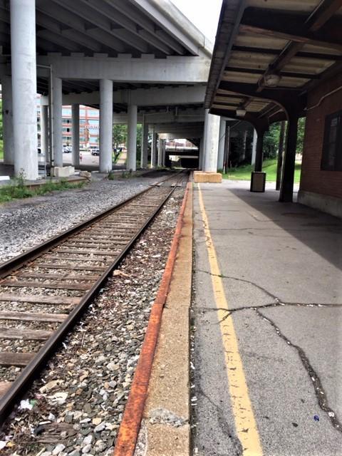 Next stop, the Depew Amtrak station