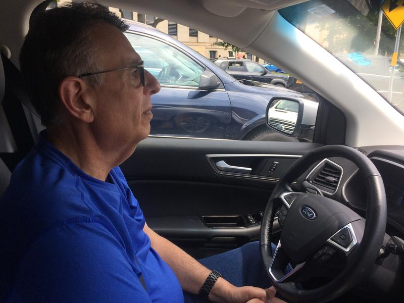 Former city leader Vincent LoVallo is now an Uber driver.