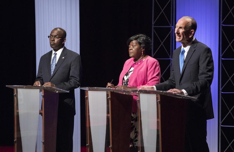 The three Democratic candidates for Buffalo Mayor