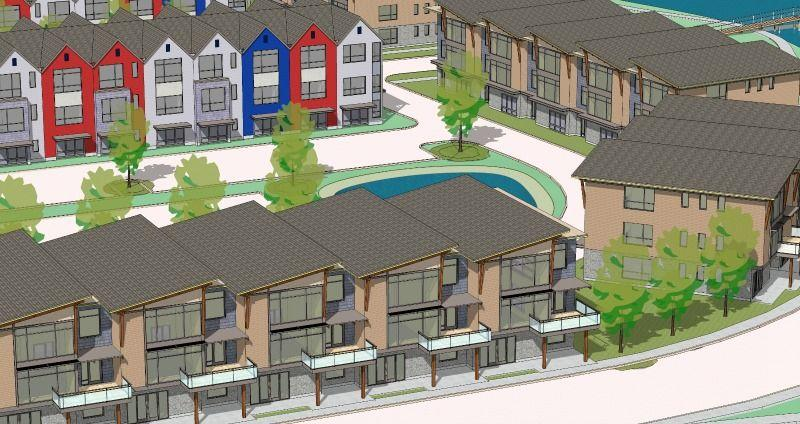Proposed lakefront apartments