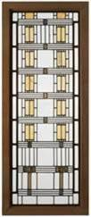 Frank Lloyd Wright Wisteria Window, Martin House, 1904-05