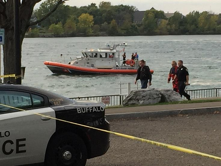 Numerous agencies participated in an intensive search of the Niagara River for a missing Buffalo Police diver who disappeared during a training exercise.