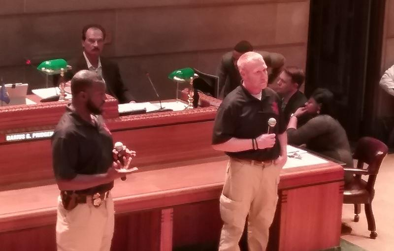Buffalo Police address the Common Council on active shooters.