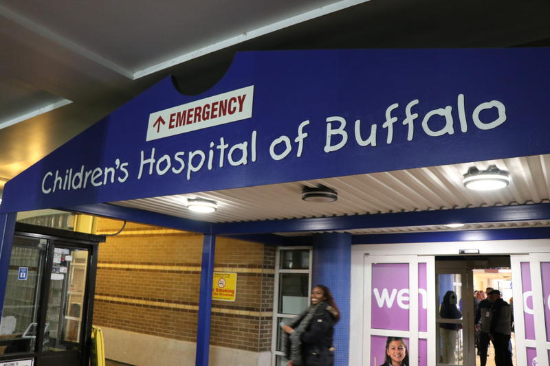 The emergency department entrance to Women & Children's Hospital.