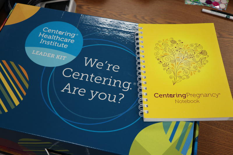 The Centering Healthcare Institute provides a kit for CenteringPregnancy programs like the one at Niagara Falls Memorial Medical Center.