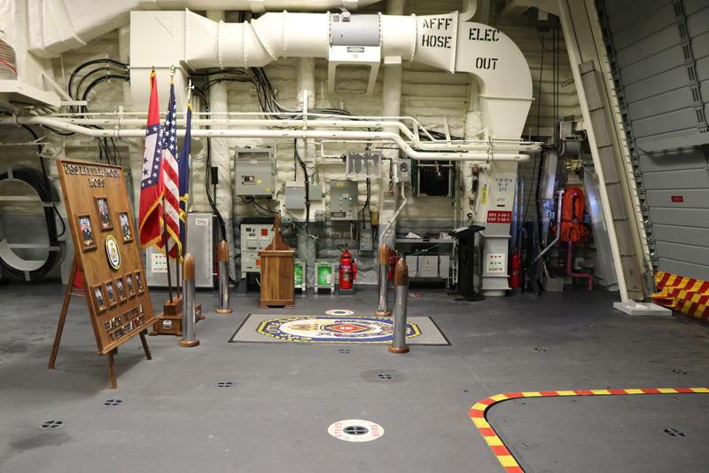 Inside the new USS Little Rock.
