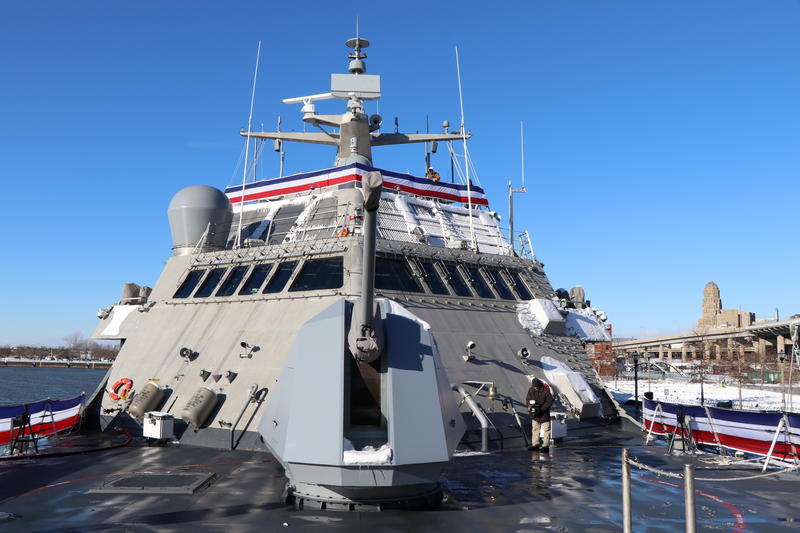 Onboard LCS-9, the new USS Little Rock.