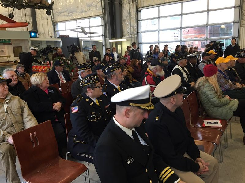 Veterans of numerous generations were in attendance at the Buffalo and Erie County Naval and Military Park's annual Pearl Harbor Remembrance ceremony Thursday.