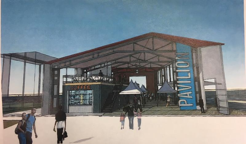 Rendering of the Pavilion at Canalside