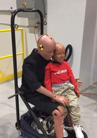 Crash-test dummies are are important tool in auto safety.
