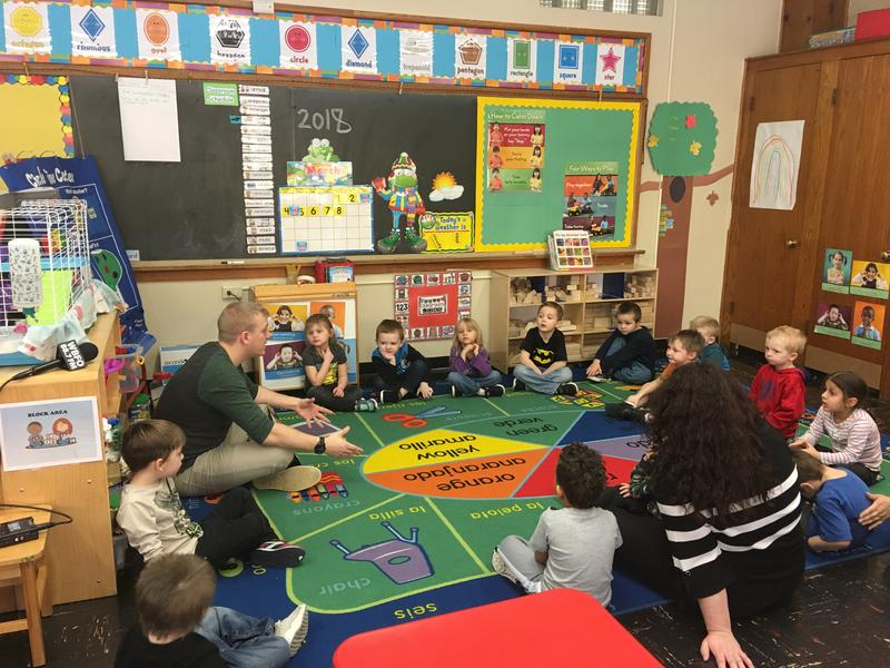 Preschoolers at St. James Head Start in Depew
