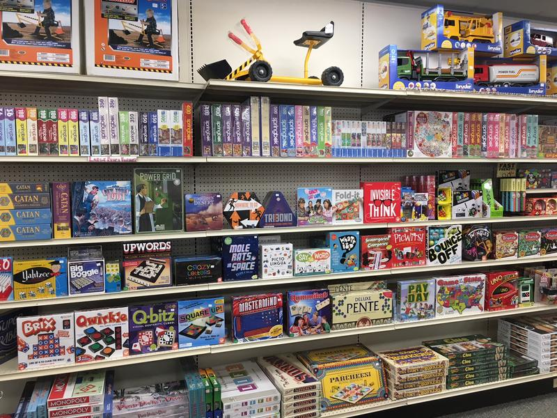 Clayton's carries a variety of board games