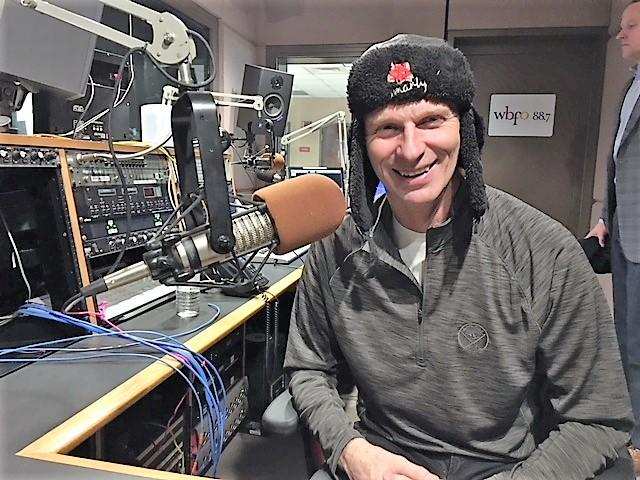 Former Buffalo Sabres goalie Dominik Hasek appears in our WBFO studio.