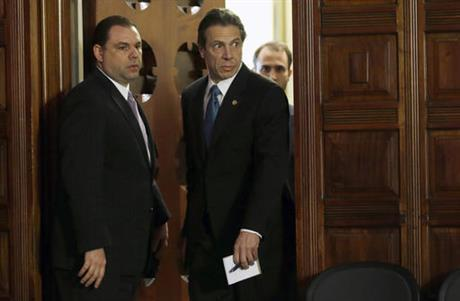 Joseph Percoco (left) is a former top aide to Gov. Andrew Cuomo.
