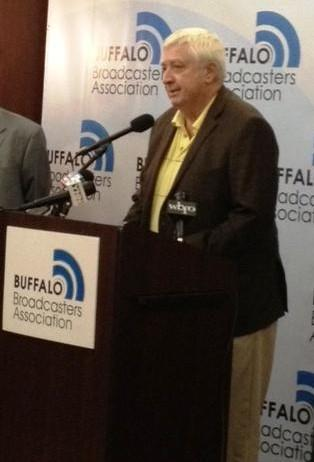 Buffalo Sabres play-by-play announcer Rick Jeanneret will be inducted into the Bare Knuckle Boxing Hall of Fame in July.