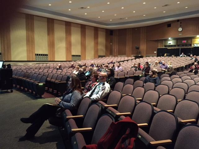 It was a sparsely attended public meeting at Maryvale High School.