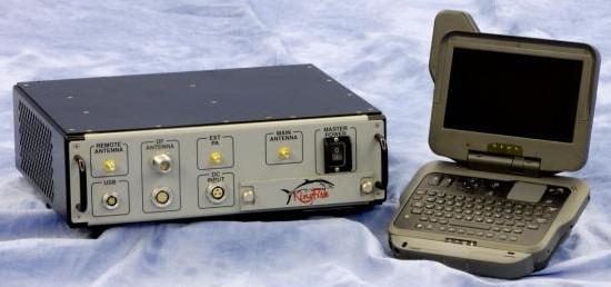 A Stingray cell phone signal tracker.