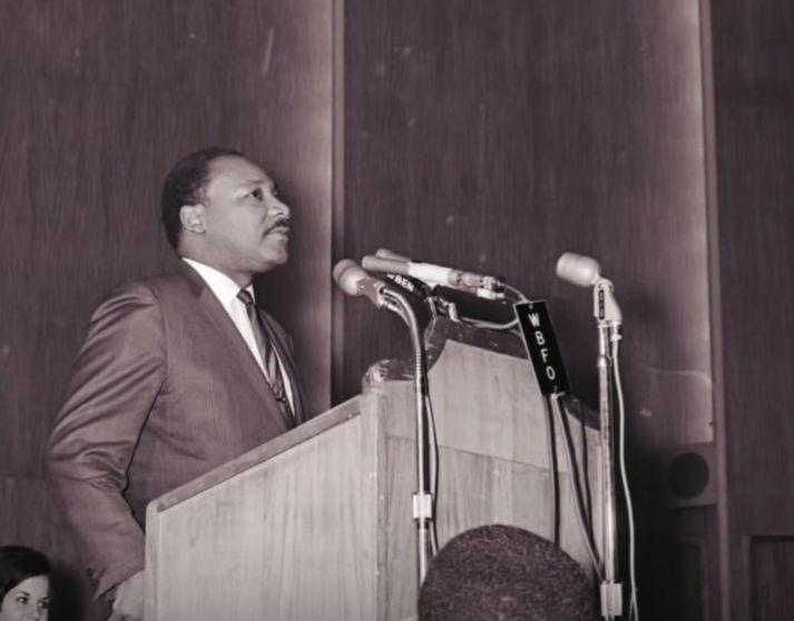 Martin Luther King Jr. at Kleinhans Music Hall, Nov. 1967
