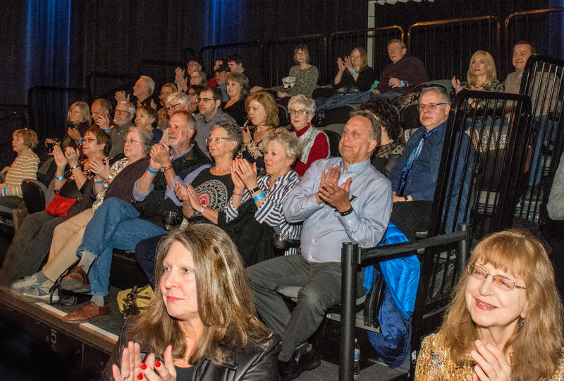 A sold-out crowd enjoyed the event at the WNED|WBFO Studios
