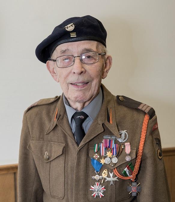 Stanley Markut, Polish World War II veteran