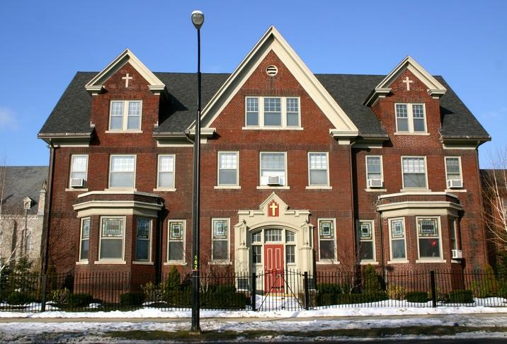 Bishop Richard Malone will relocate to the former convent house on the grounds of St. Stanislaus Parish.