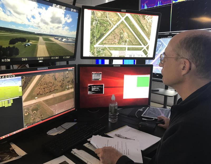 Last summer, NASA participated in a drone demonstration at the Griffiss International Airport to test a traffic management system for unmanned aerial vehicles.
