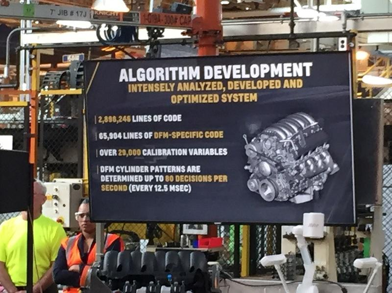 During the announcement Monday, plant officials listed some of the details demonstrating how complex and sophisticated the new engine's fuel delivery system is.