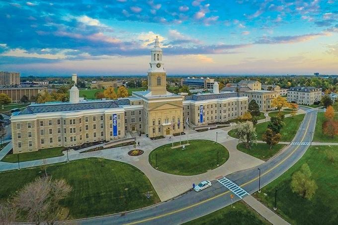 Revitalization plans are focused on restoring the historic buildings and landscape at UB's South Camous.