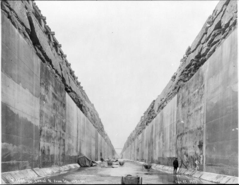 The Queenston-Chippawa Power Canal under construction near Niagara Falls, Ont., in 1921, one of several vast industrial projects on the Niagara Frontier of the last century.