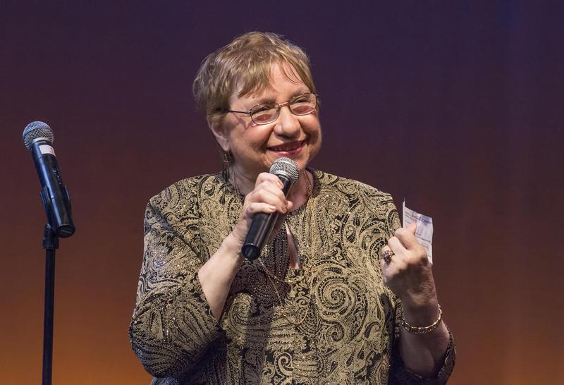 Darleen Pickering Hummert receives the Career Achievement Artie
